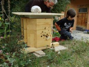 Bienenkugel bei uns