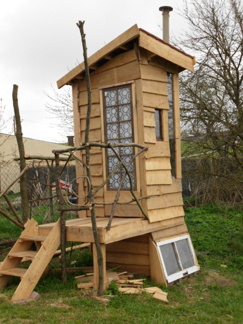 Komposttoilette Bauen permakultur design kurs mienbacher waldgarten