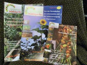 Alle bisherigen Ausgaben der Waldgartenzeitschriften als günstiges Set erhältlich