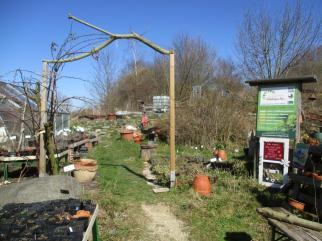 Eingang zur Gärtnerei